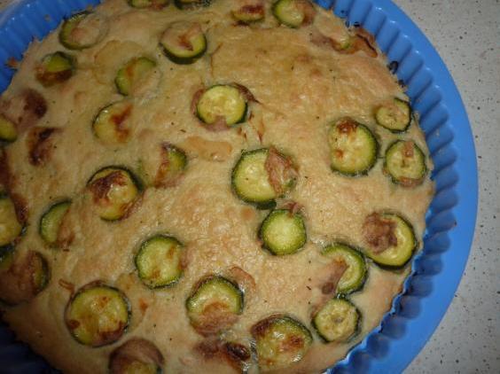 Schiacciatina di zucchine senza glutine