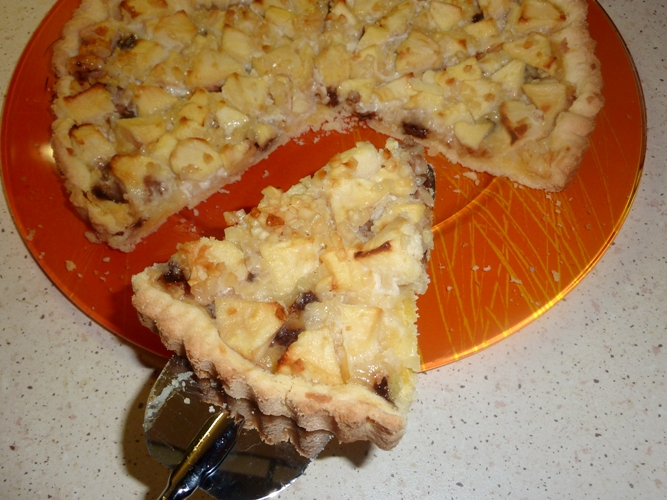 Crostata di mele e mandorle senza glutine