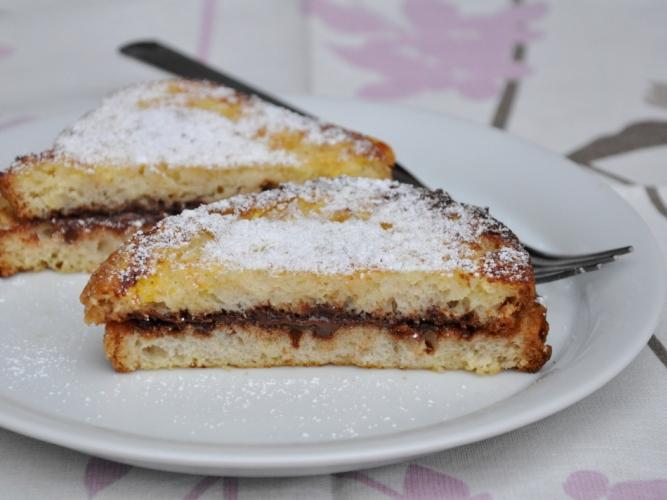 French toast alla Nutella senza glutine