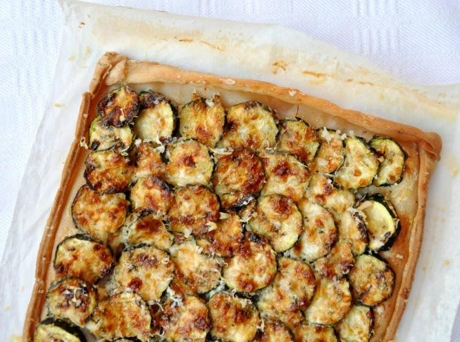Torta salata veloce alle zucchine