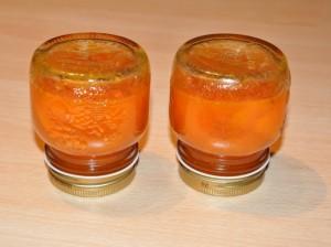 Preparazione confettura di albiccocche