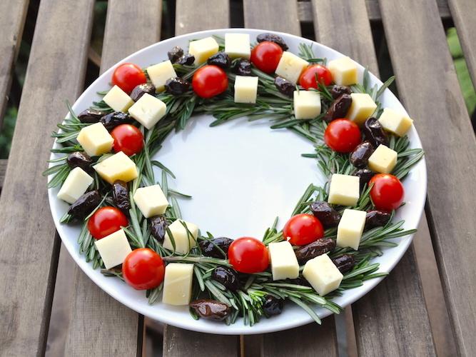 Antipasti Ricette Di Natale.Ghirlanda Antipasto Di Natale Una Cucina Tutta Per Se