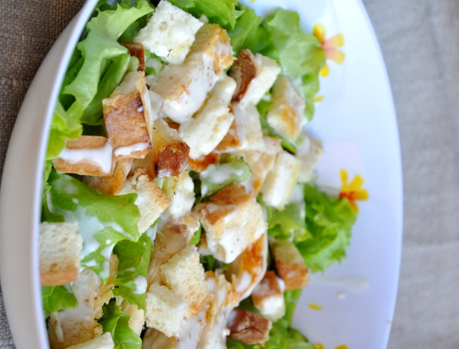 Caesar's salad senza glutine