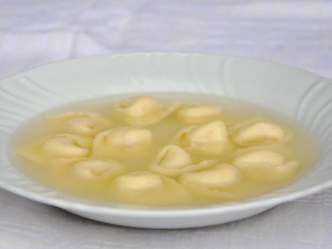 Tortellini in brodo senza glutine