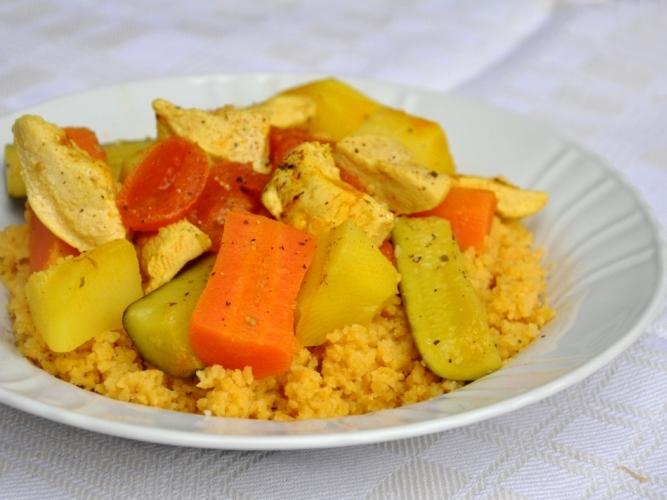 Cous cous senza glutine alla marocchina