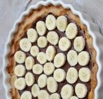 Crostata nutella e banane