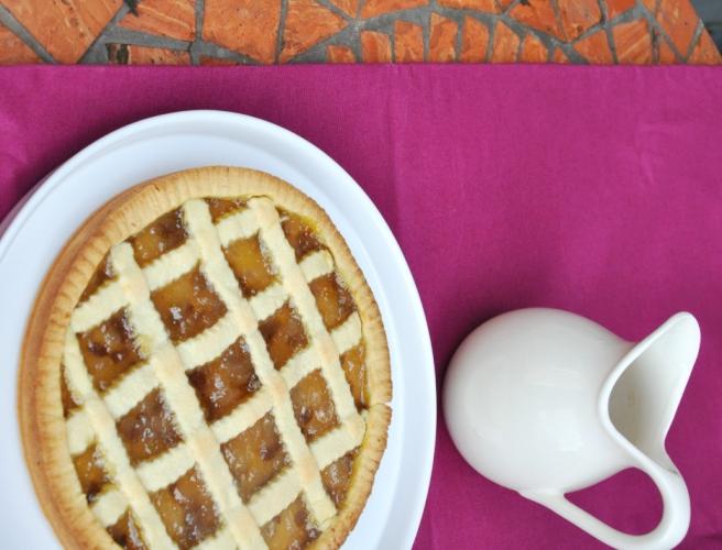 Crostata cioccolato e pere senza glutine