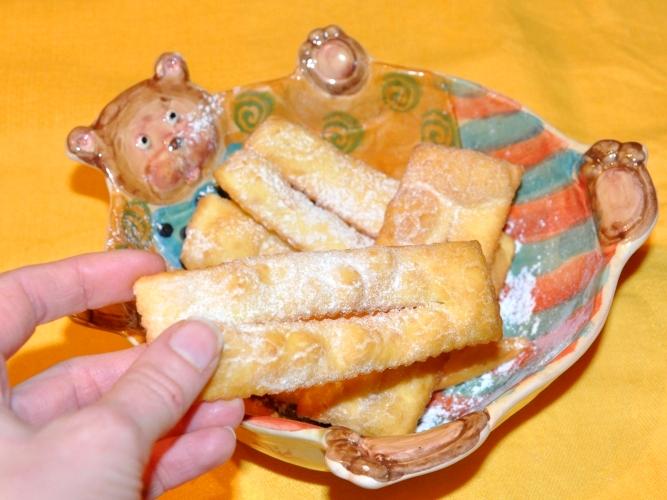 Crostoli di carnevalea senza glutine