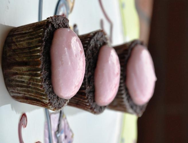 Cupcake al cioccolato senza glutine