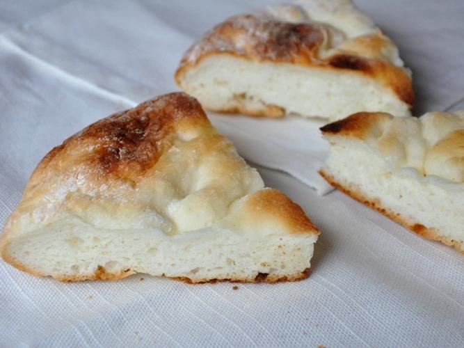 Focaccia senza glutine cotta in padella