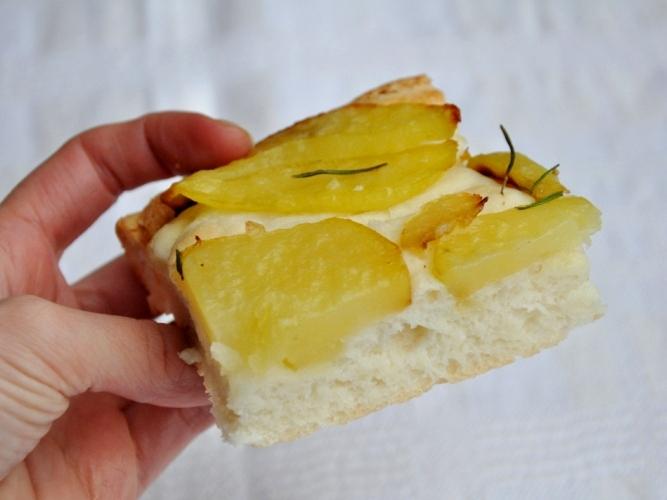 Morbidissima focaccia senza glutine alle patate