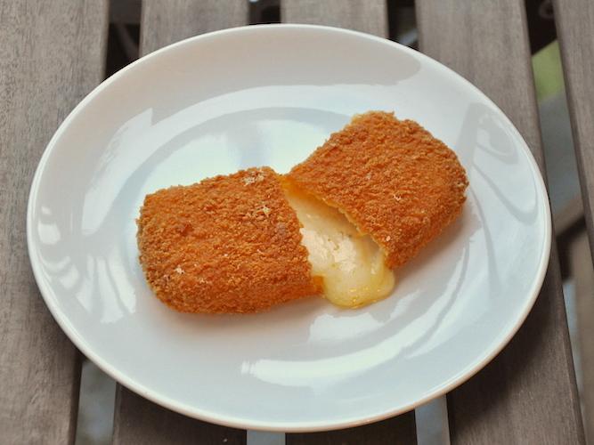 Formaggio fritto senza glutine