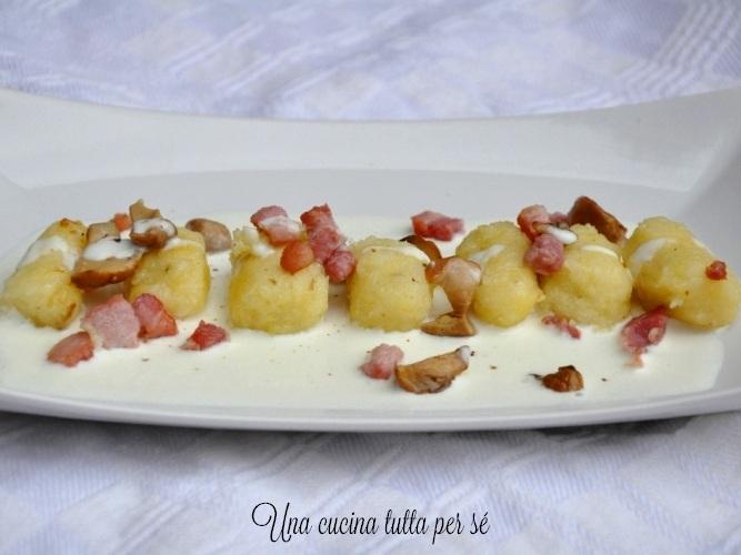 gnocchi-senza-glutine-porcini-pancetta-parmigiano