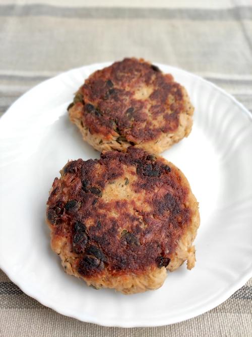 Hamburger di tonno in scatola