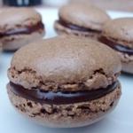 Macarons al cioccolato di Laudrée