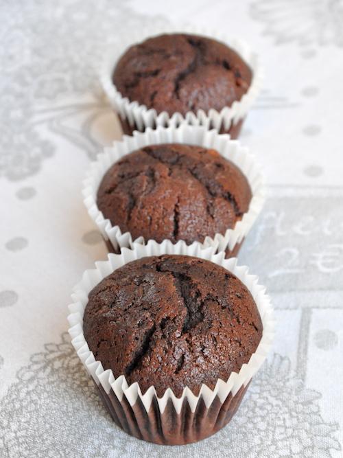 Muffins al cioccolato senza glutine