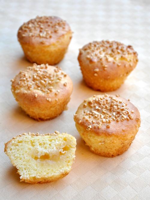 Muffins senza glutine al limone