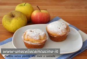 Muffins senza glutine alle mele e cannella