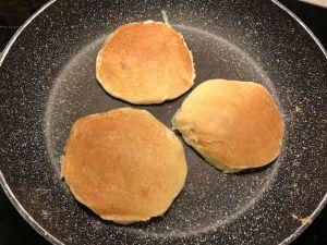 Pancake soffici senza glutine cottura