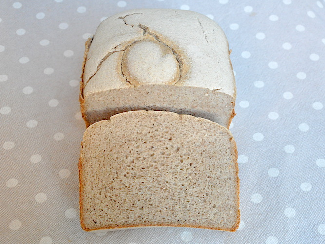 Pane senza glutine con grano saraceno