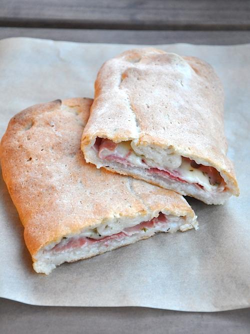 Pane senza glutine ripieno
