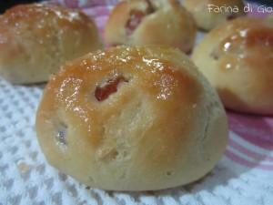 Panini con uvetta senza glutine