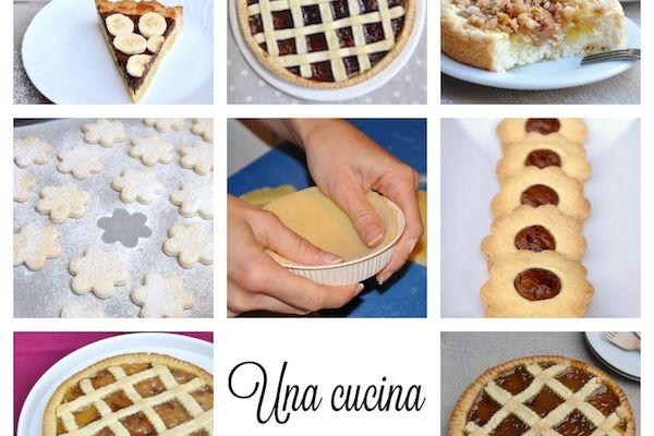 Pasta frolla senza glutine per crostate e biscotti
