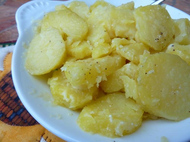 Patate al burro e formaggio