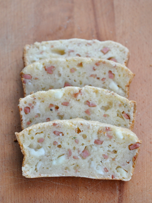Plumcake salato senza glutine alla mortadella