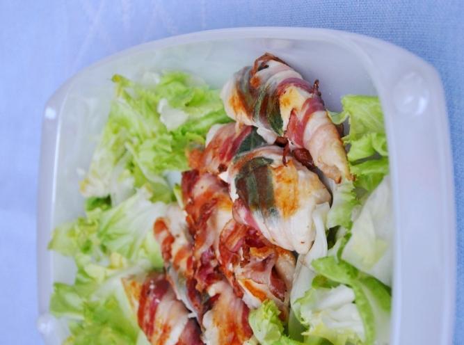 Pollo croccante alla pancetta