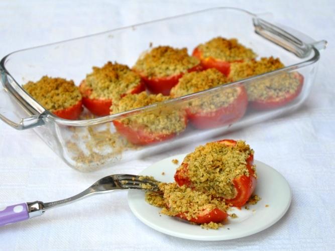 Pomodoro gratinato senza glutine