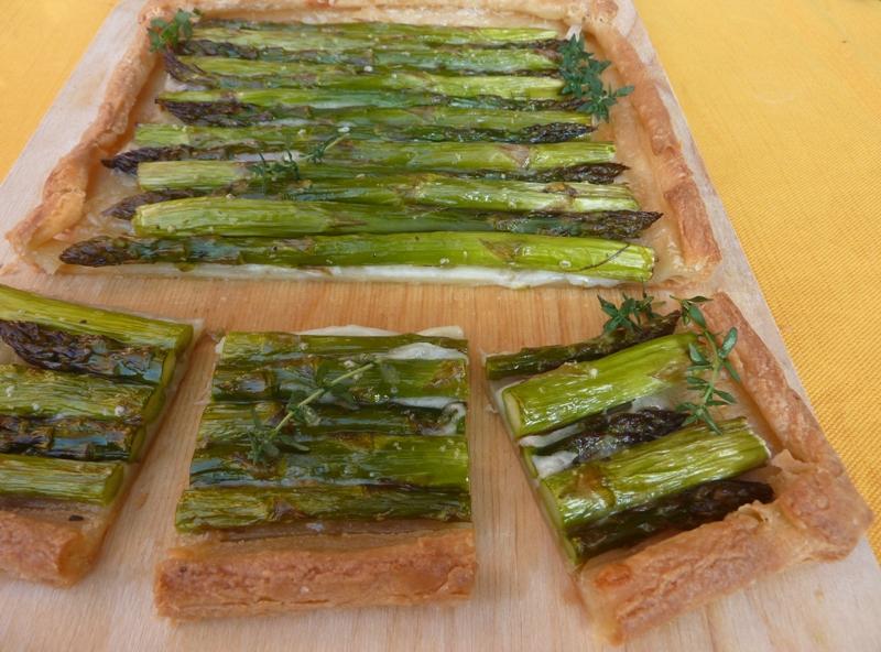 Quiche agli asparagi senza glutine