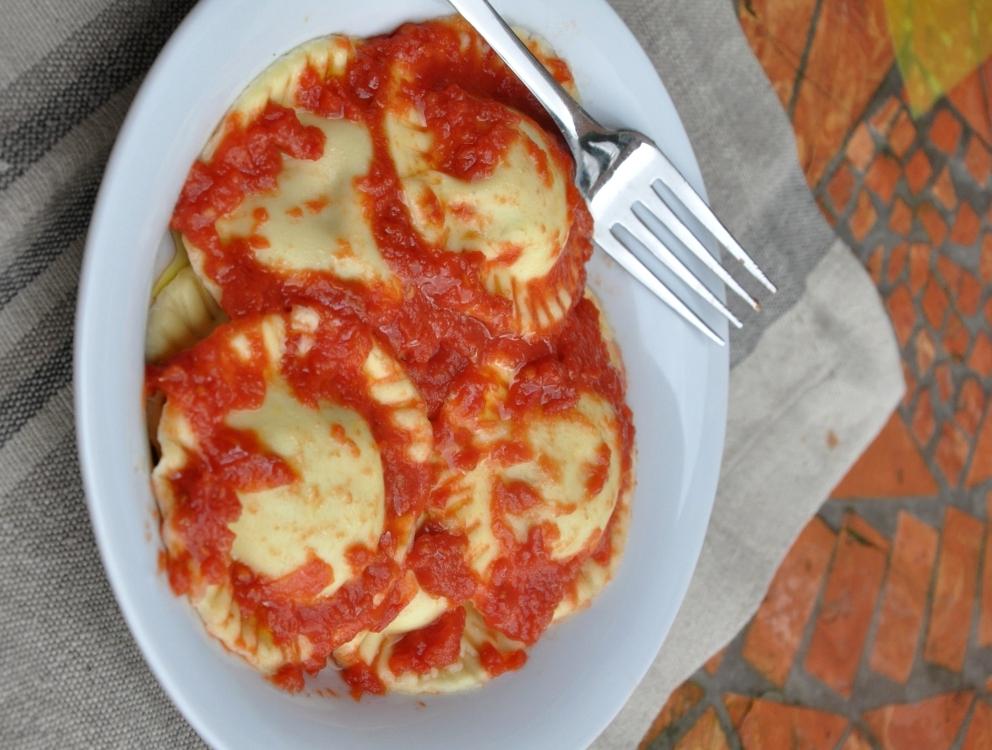 Ravioli alle zucchine senza glutine