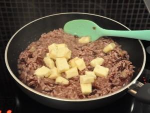 risotto-radicchio-taleggio-cottura