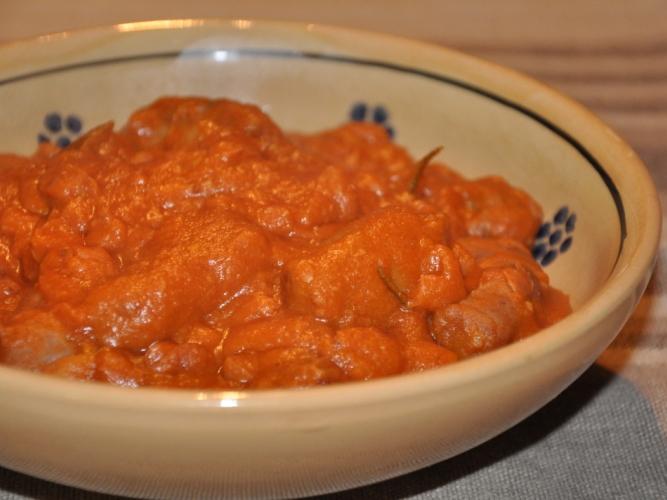 Salsiccia e fagioli senza glutine