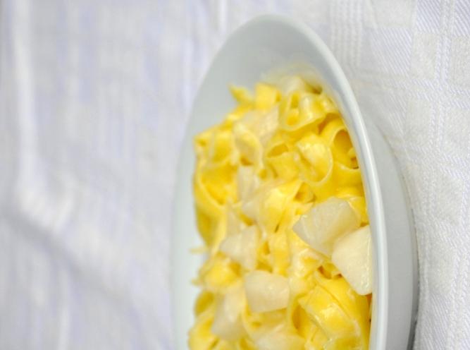 Pasta taleggio e pere senza glutine