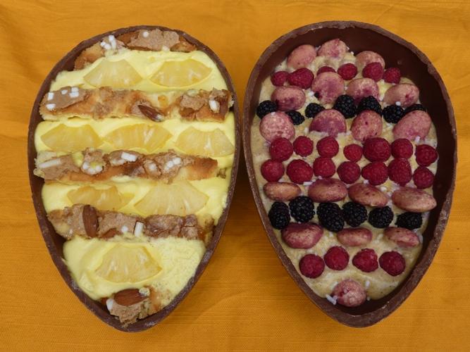 Tiramisù pasquale alla frutta senza glutine