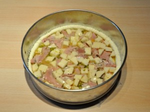 torta-salata-piselli-provola-prosciutto-senza-glutine