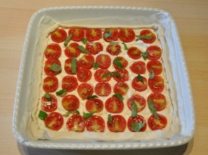 torta-salata-ricotta-e-pomodorini-preparazione