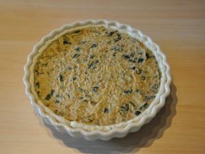 torta-salata-zucchine-nocciole-cottura-ripieno