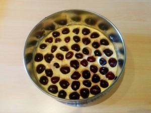 torta-senza-lievito-ciliegie-preparazione