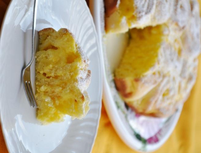 Torta di rose senza glutine al limone senza glutine