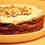 Torta senza glutine farcita al cioccolato